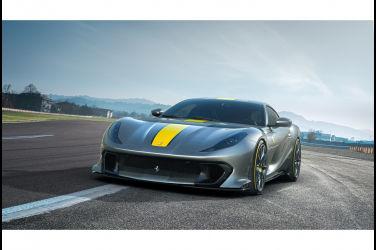 彰顯純正競技基因 Ferrari 812 Competizione