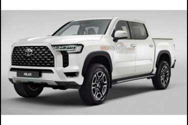 下一代Toyota Hilux將在2025年以Hybrid動力&長得像Land Cruiser的面貌登場?