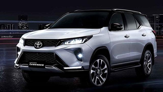 2021年08月 Toyota 豐田全車系中古車行情表