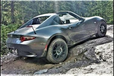 Mazda Roadster化身為SUV車?!頂尖敞篷車改造成越野風格