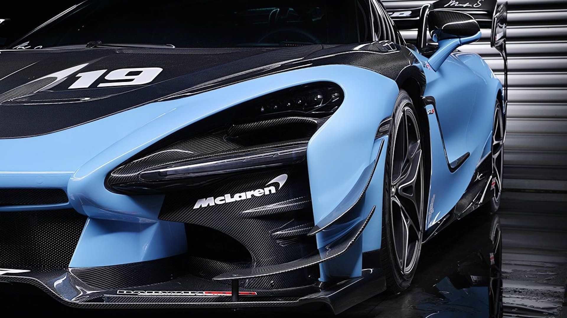 McLaren 720S 的外觀接近 Senna GTR 的機會來了