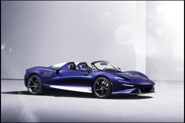 新增前擋車型 McLaren Elva windscreen version