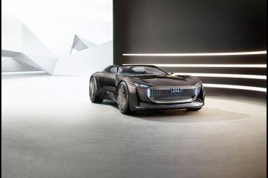 四環全新純電概念車Audi skysphere concept 開啟未來移動時代的無限可能