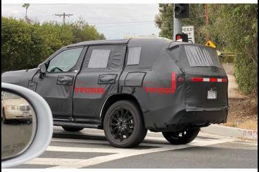 直擊下一代Lexus LX開發車!尾燈設計類似NX?