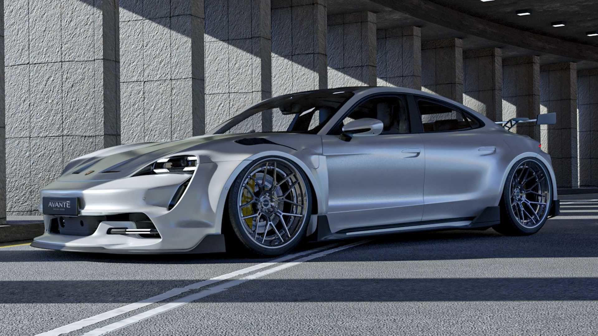 GT3 RS 風格加持的 Porsche Taycan 感覺很有搞頭!