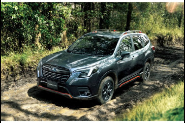 內外更新、主動安全加碼 小改款Subaru Forester