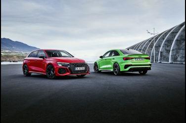嗆辣雙嬌 Audi RS 3
