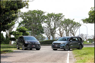 [集體評比] 家用大型7人座MPV的抉擇(上) Kia Carnival X Toyota Sienna