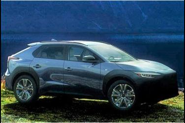 Subaru新型EV Solterra部份外觀曝光!與Toyota bZ4X是兄弟車?