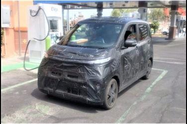 "Nissan的輕型電動車""SAKURA""測試車 於美國曝光!維持IMk的風貌"