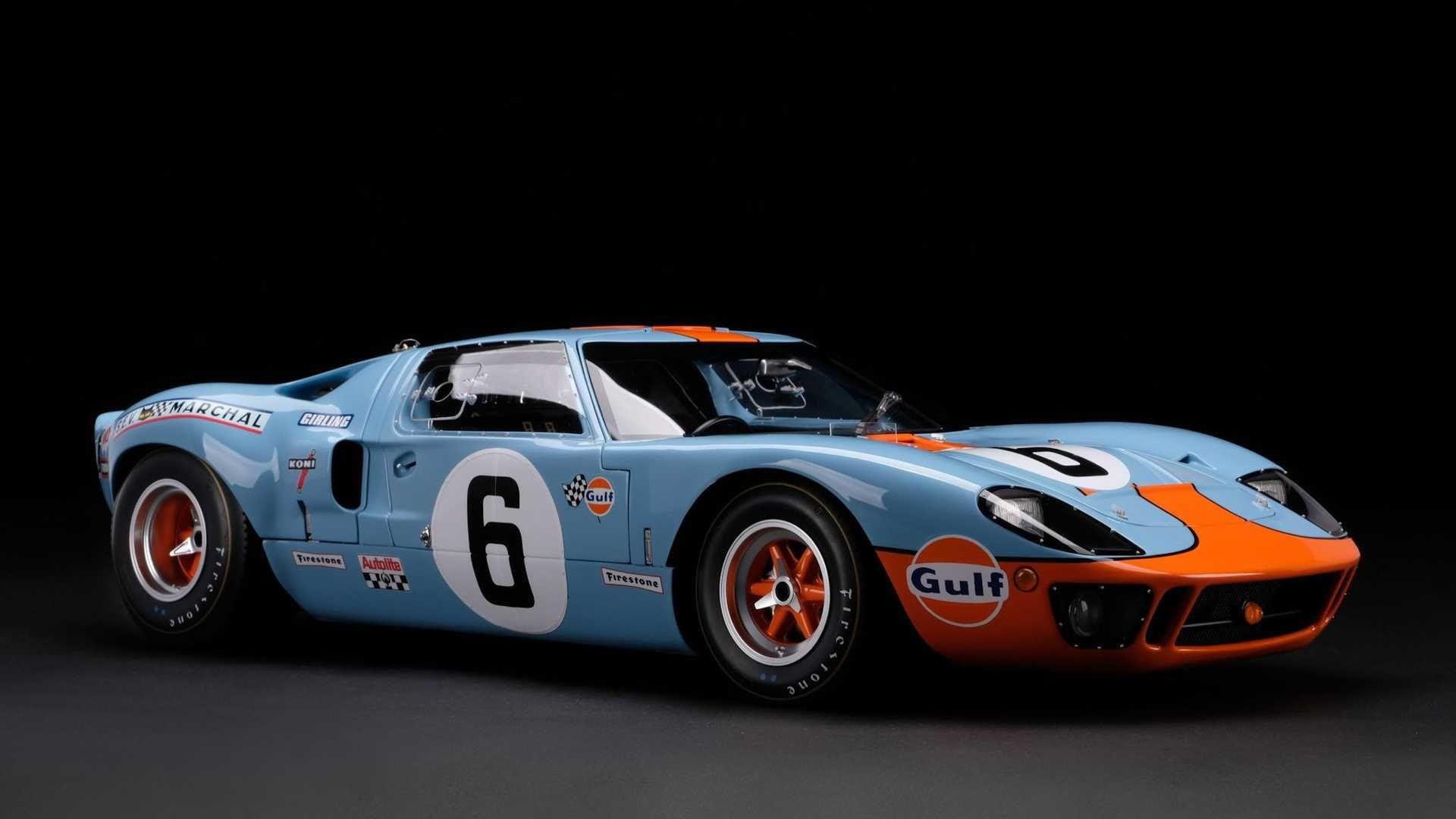 Amalgam 推出超精細 1:8 比例的 Ford GT40 賽車模型