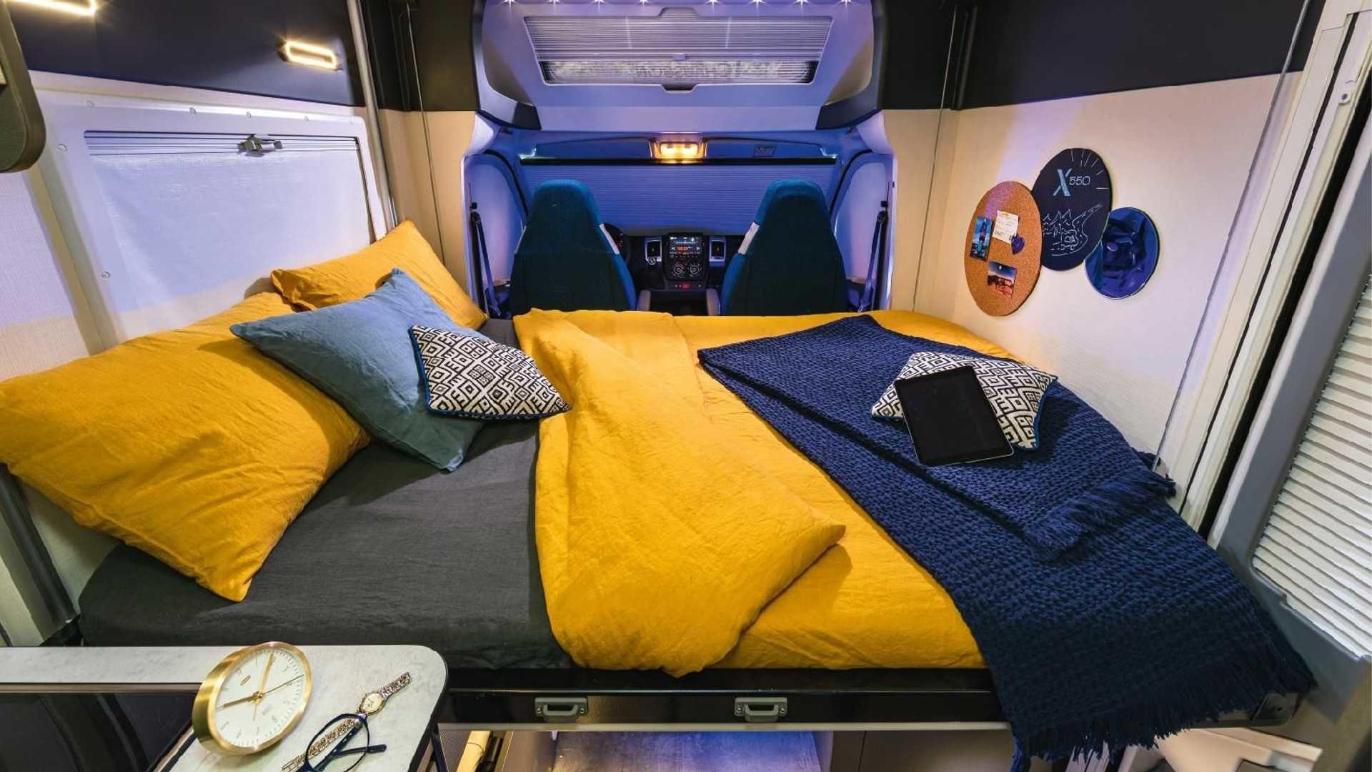 給我更多的配備!Chausson X550 能成為小尺寸多功能露營車的代表產品嗎?