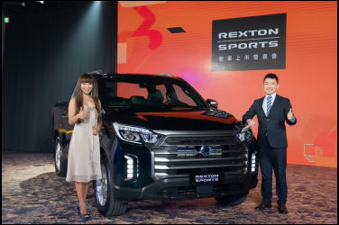 SsangYong RextonSports 韓系豪華旗艦皮卡