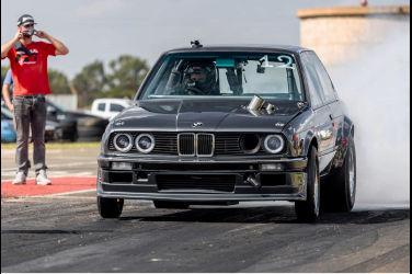 愈挫愈勇的BMW E30 最終零四9.96秒@233.6km/h達成