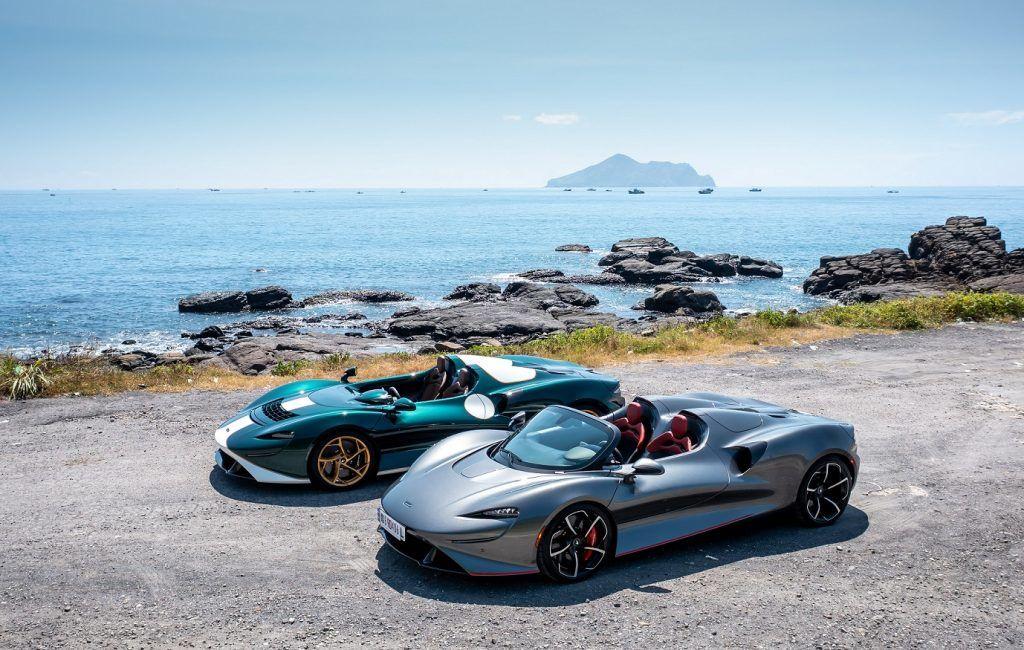 McLaren Elva前擋版本馭風抵台 MSO頂級客製化