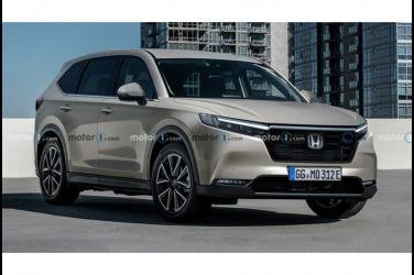 下一代新型Honda CR-V預想圖 全面電氣化&標配三排座椅?