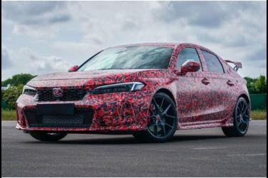 Honda官方發表新型Civic Type R部份外觀!準備上紐柏林賽道測試