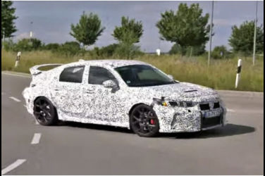 揭露新型Civic Type R的行駛影片!記得開聲音