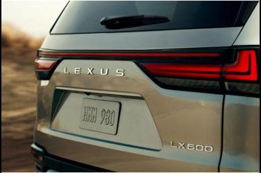 Lexus新一代LX將於10月14日全球首度亮相!釋出預告照
