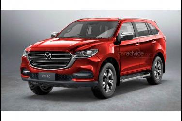 Mazda會與Isuzu合作開發CX-70嗎?魄力滿點的預想圖