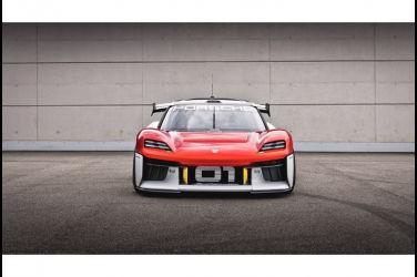電動浪潮席捲慕尼黑 2021年IAA車展預示未來 - Porsche Mission R 電戰未來