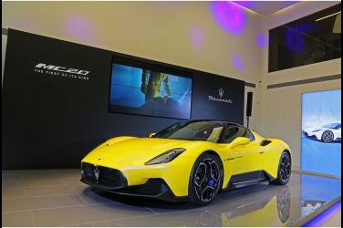 重振海神威名 Maserati MC20