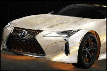 Lexus官方痛車?!電影《永恆族Eternals》角色特別塗裝車