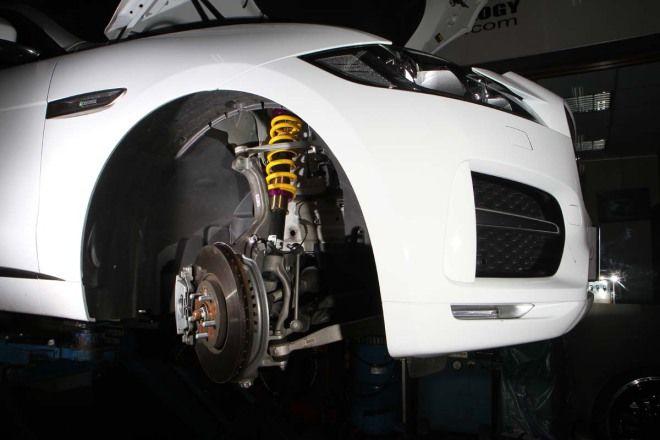 減震筒身不用換KW高低可調彈簧套件