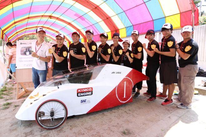 KYMCO連續第九年贊助節能車大賽