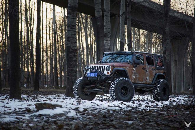 有人喜歡鏽掉的Jeep Wrangler嗎?偏偏獵人就愛這一款!