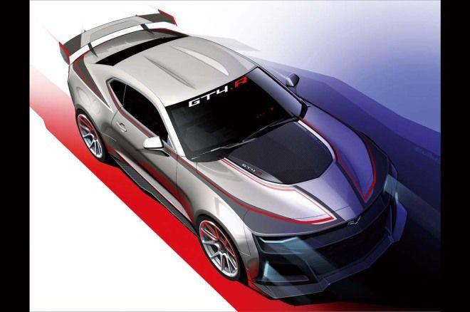 Chevrolet最新賽車Camaro GT4.R剽悍現蹤