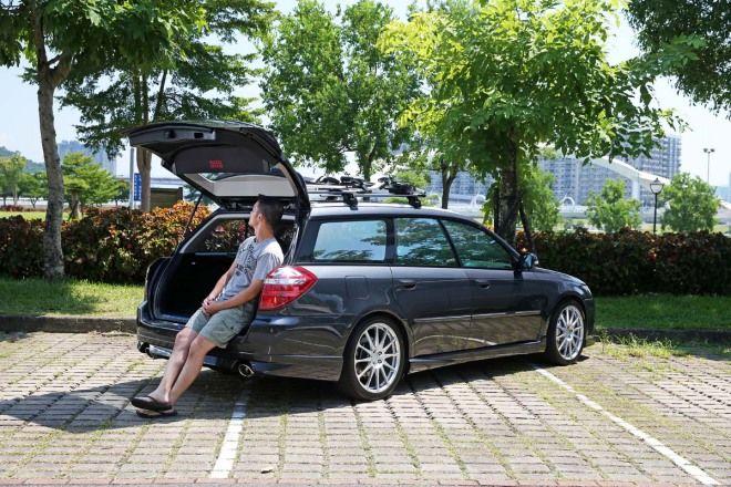 50-60萬元推薦中古車:滿滿的東瀛風味Subaru Legacy Station Wagon 2.0R (BP5)