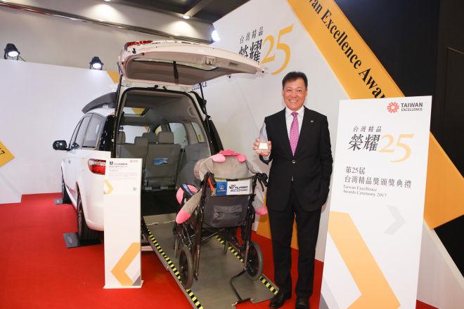 LUXGEN V7 TURBO ECO HYPER榮獲2017年「台灣精品銀質獎」殊榮