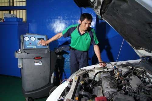 常保愛車冷颼颼 冷氣循環清洗