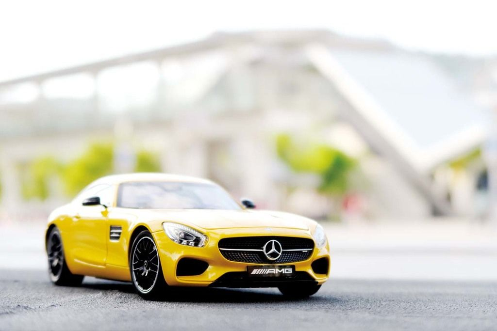 景深只是輔助 光圈概念模型車拍攝教學