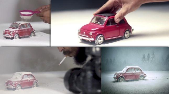 墨西哥攝影師打造微型車一個夢幻般的世界