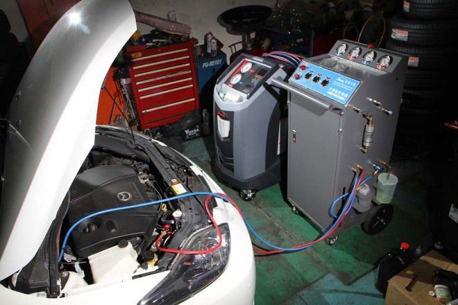 人車冷卻10妙招-妙招9:冷氣系統循環清洗