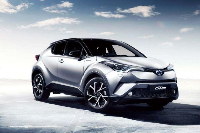 Toyota C-HR全解析(7-4) --外型及內裝設計/車型配備編成