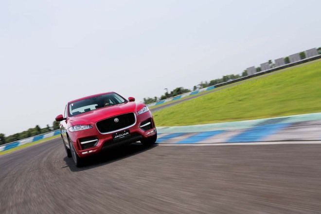 Jaguar F-Pace,在賽道逞威,越野和大空間,三個願望一次滿足