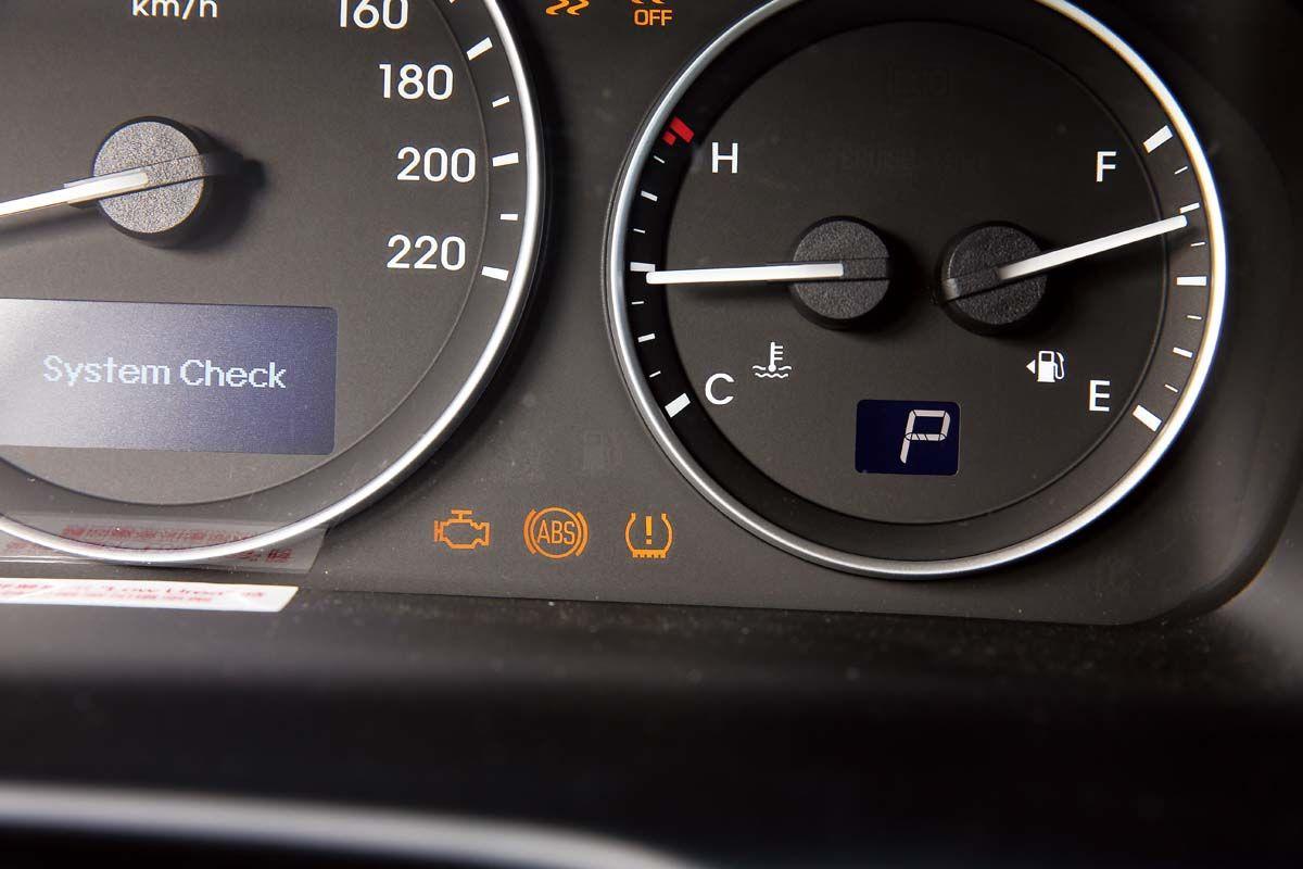 车系新增的tpms会在胎压异常时,透过仪表警示灯号提醒驾驶停车检查.图片