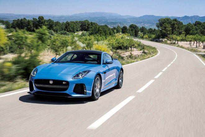 咆哮獵豹 Jaguar F-Type SVR Coupe巴塞隆納全球首試