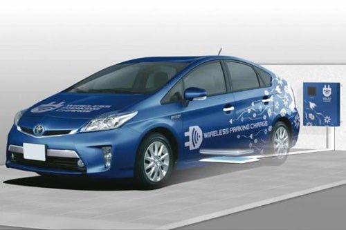 充電僅90分鐘 Toyota豐田汽車無線充電技術再突破