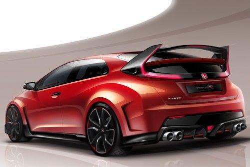 Honda展前公布Civic Type-R樣貌