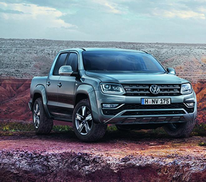 The new Volkswagen Amarok V6 即日起開放預售接單