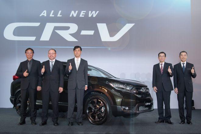 All New CR-V進化登場樹立次世代SUV嶄新標竿