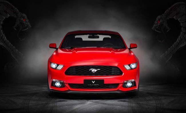 野馬真的變「野馬」Vilner Mustang GT現身北京