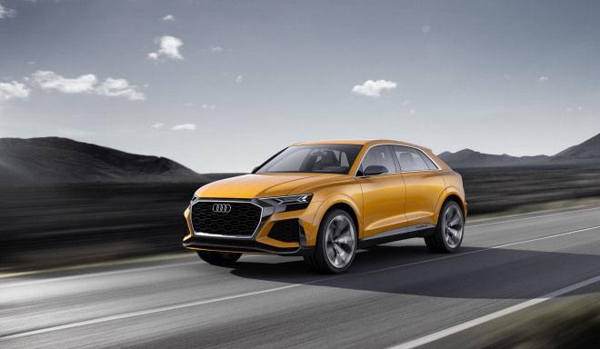 全新Q8 sport concept率先搭載車用版Android系統