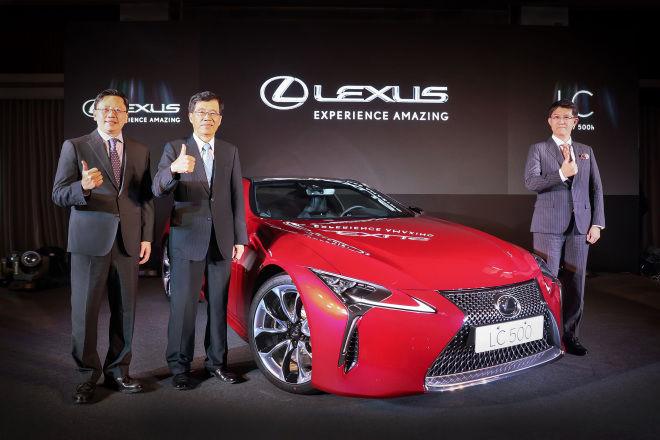 LEXUS全新LC雙門旗艦轎跑正式發表