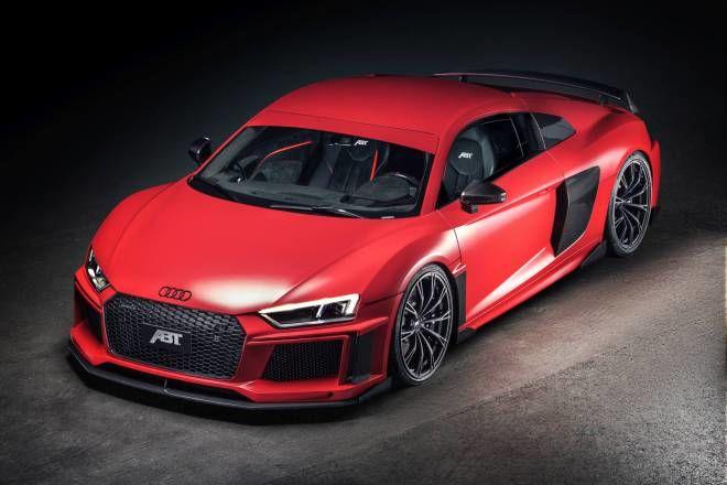 官方釋出熱騰騰影片~ 2017 ABT Audi R8 V10