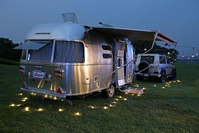 全民瘋露營快看這裡,頂級露營拖車正式登台